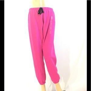 Pink Victoria's Secret Lounge Classic Pants NWT